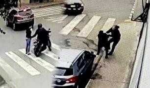 San Luis: cámaras captan violentos asaltos en zona industrial