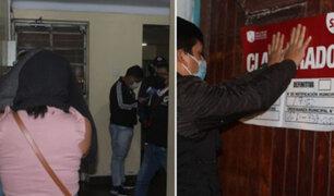 SJM: intervienen a 30 personas durante operativo contra prostíbulo y bar clandestino
