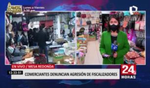 Mesa Redonda: comerciante afirma estar aterrorizada tras violenta agresión de fiscalizadores