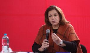 Lourdes Flores: las acciones legales seguirán, más allá de que el JNE proclame a Pedro Castillo