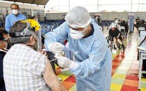 Ugarte: Perú recibirá mayor cantidad de vacunas en segundo semestre de 2021