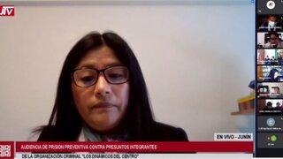 Dinámicos del Centro: Jueza rechazó dictar prisión preventiva contra investigados