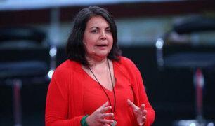 Rocío Silva considera que los políticos deben tener la mejor relación con la prensa