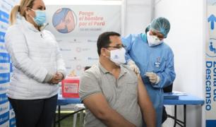 """Vacunatón: """"paciente cero"""" recibió dosis contra el coronavirus"""