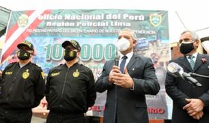 Policía Nacional lanza plan de operaciones para Fiestas Patrias del Bicentenario
