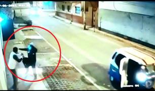Comas: capturan a delincuente que asaltó a joven en plena vía pública