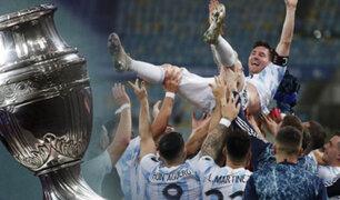 Argentina vence a Brasil 1-0 y se queda con la Copa América