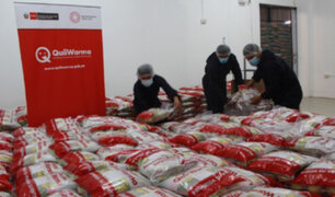 Programa Qali Warma entregó más de 30 toneladas de alimentos al municipio de Chiclayo
