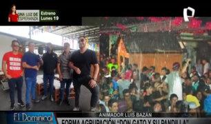 Don Gato y su Pandilla: popular animador Luis Bazán forma  agrupación de cumbia