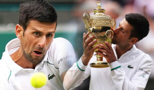 Novak Djokovic se coronó campeón en Wimbledon