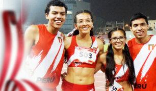 Perú logra siete medallas en el Sudamericano U20 de atletismo