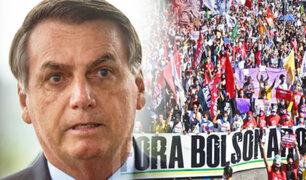 Brasileños quiere llevar a Jair Bolsonaro a un juicio político