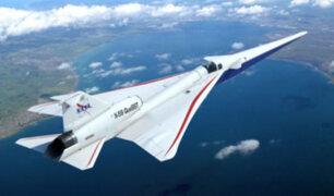 NASA desarrolla el primer avión supersónico ultrasilencioso