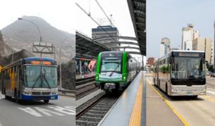 ATU: Conozca los nuevos horarios del transporte público en Lima y Callao desde el lunes 12 de julio