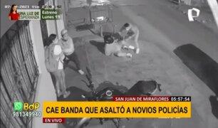 Persecución y balacera en SJM: cae banda que asaltó a pareja de policías