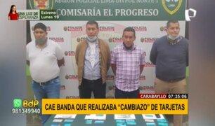 """""""Los tarjeteros del Norte"""": banda realizaba """"cambiazo"""" de tarjetas en cajeros automáticos"""