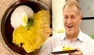 D'Mañana prepara el platillo predilecto del alcalde Jorge Muñoz: ají de gallina