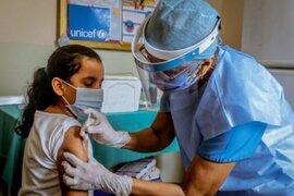Solo el 10.4% de niñas recibieron la primera dosis de la vacuna contra el VPH en lo que va del año