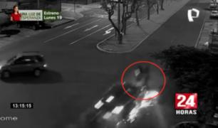 Motociclista pierde la vida tras ser arrollado por camioneta en Surco