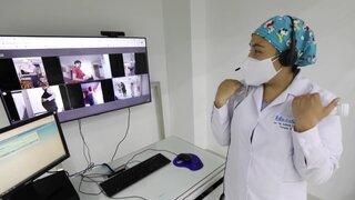 Para evitar el riesgo de Covid-19: EsSalud implementa rehabilitación virtual en adultos mayores