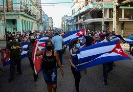 Reacciones a las protestas en Cuba, las más grandes en décadas