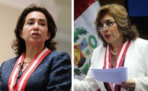 Congreso: citarán nuevamente a la presidenta del Poder Judicial y a la fiscal de la Nación