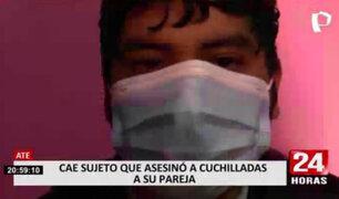 Huaycán: cae sujeto que confesó ser el autor del asesinato de su pareja