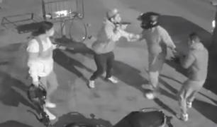 SJM: cae banda criminal que intentó asaltar a pareja de policías