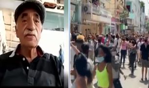 Congresistas se pronuncian por las protestas antigubernamentales en Cuba
