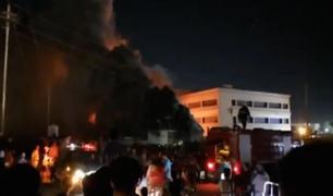 Irak: asciende a 58 el número de muertos tras incendio en unidad anticovid