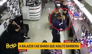 Asalto en barbería de Los Olivos: delincuente se tomó el tiempo para peinarse durante robo