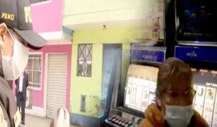Callao: incautan 18 tragamonedas al interior de una vivienda clandestina