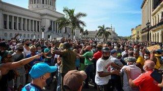Las mayores manifestaciones desde 1994 causan preocupación al régimen cubano