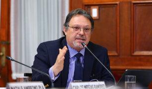 Carlos Mesía: Fuerza Popular pedirá comisión investigadora para conocer la verdad sobre elecciones