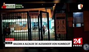 Ucayali: alcalde de distrito de Von Humboldt grave tras ser baleado