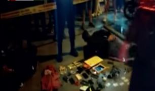 Capturan a delincuentes que asaltaron barbería en Lima Norte