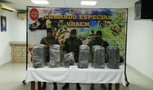 Vraem: incautan más de 240 kilos de cocaína que estaban listos para ser enviados fuera del país