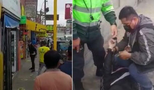 SJM: hombre fue asesinado a cuchilladas durante una gresca en plena vía pública
