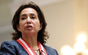 Elvia Barrios: controversia por denuncia constitucional contra presidenta del Poder Judicial