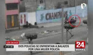 Anuncian sanciones para policías que se enfrentaron a balazos por presunto lío amoroso