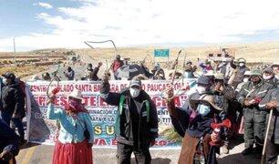 Puno: Agricultores anuncian paro indefinido por contaminación con aguas servidas