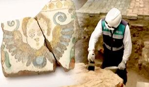 Cercado: hallan restos arqueológicos en plaza Francia
