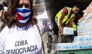 Florida: residentes intentan enviar ayuda a Cuba