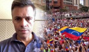 Leopoldo López llama a retomar protestas en Venezuela