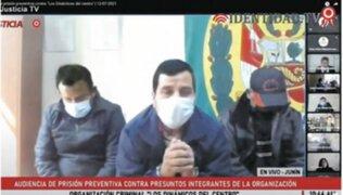 Los Dinámicos del Centro: fiscal revela que investigado tenía grupo de WhatsApp 'Miembros de Mesa Perú Libre'