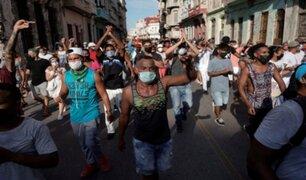 Cuba: opositores optimistas en que manifestaciones lleven a cambios duraderos