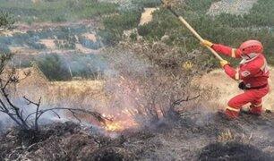 Cusco en alerta por incendios forestales: 12 siniestros reportados en una semana