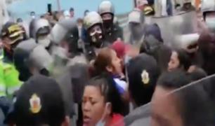 Callao: desalojan a ambulantes que ingresaron al boulevard Cochrane