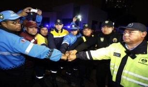 Central 105 de la Policía Nacional y serenos unen esfuerzos para luchar contra la inseguridad