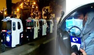 Mototaxistas duermen en grifos por falta de GLP